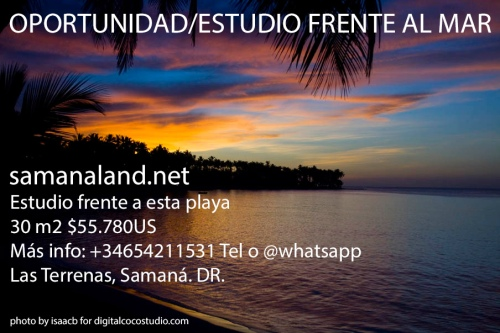 ESTUDIO LAS TERRENAS BEACH FRONT